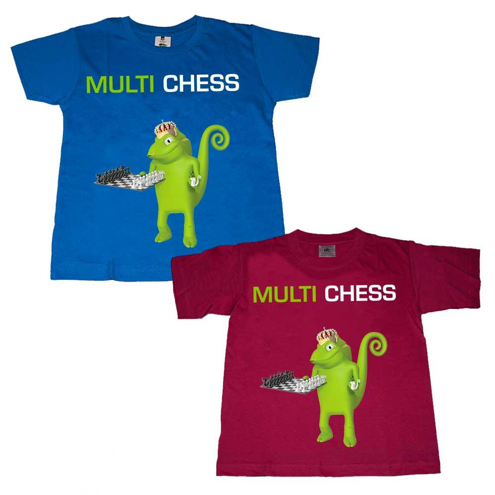 T-Shirt do MULTI CHESS