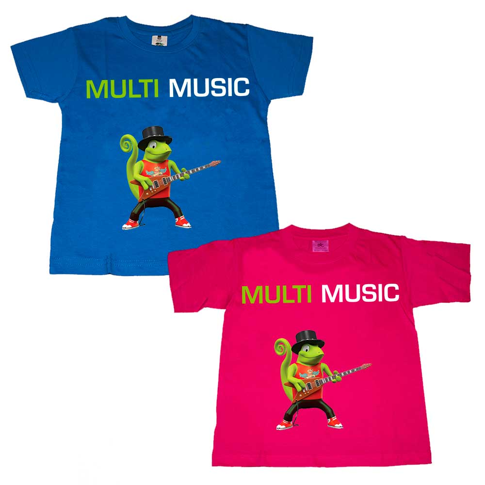 T-Shirt do MULTI MUSIC