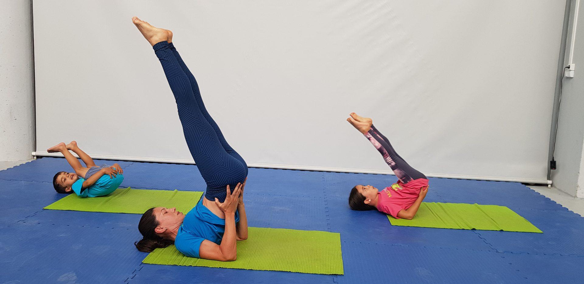 Yoga para crianças - 2