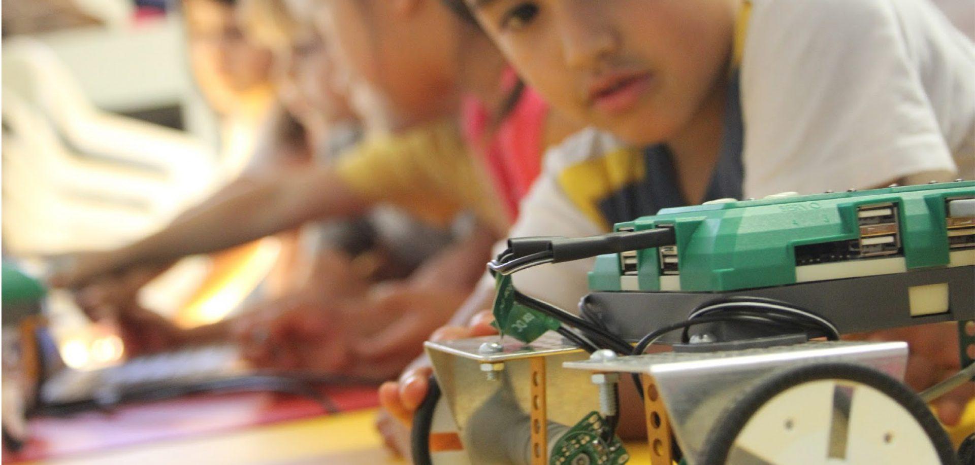Programação e Robótica para crianças