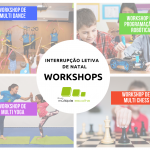 workshops - Interrupções letivas